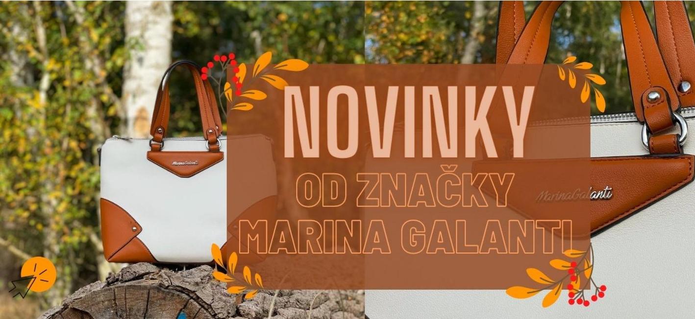 Novinky  od Marina Galanti