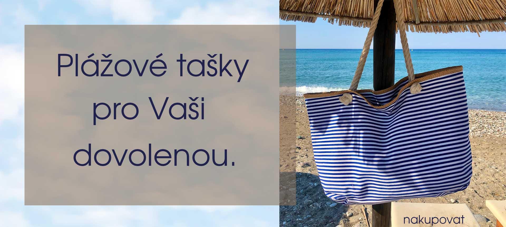 Plážové tašky pro Vaši dovolenou.
