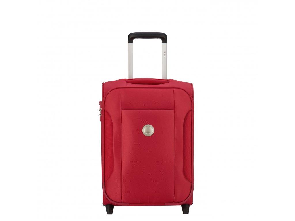 Delsey Sudete kufr 57 cm červený