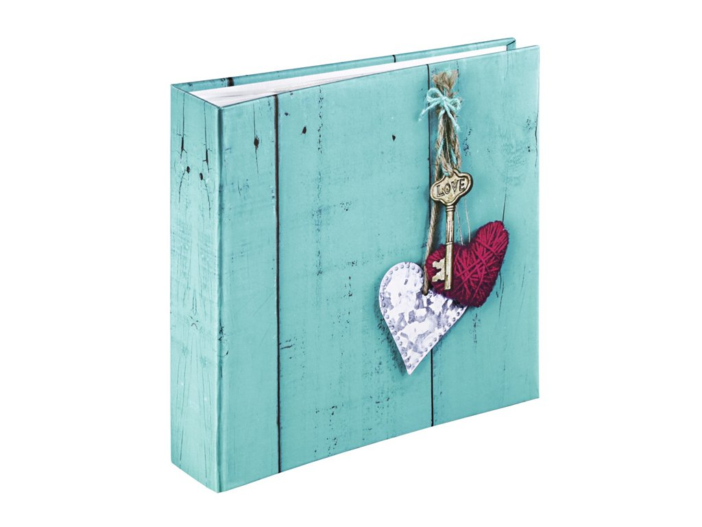 Hama album memo RUSTICO LOVE KEY 10x15/200, popisové pole