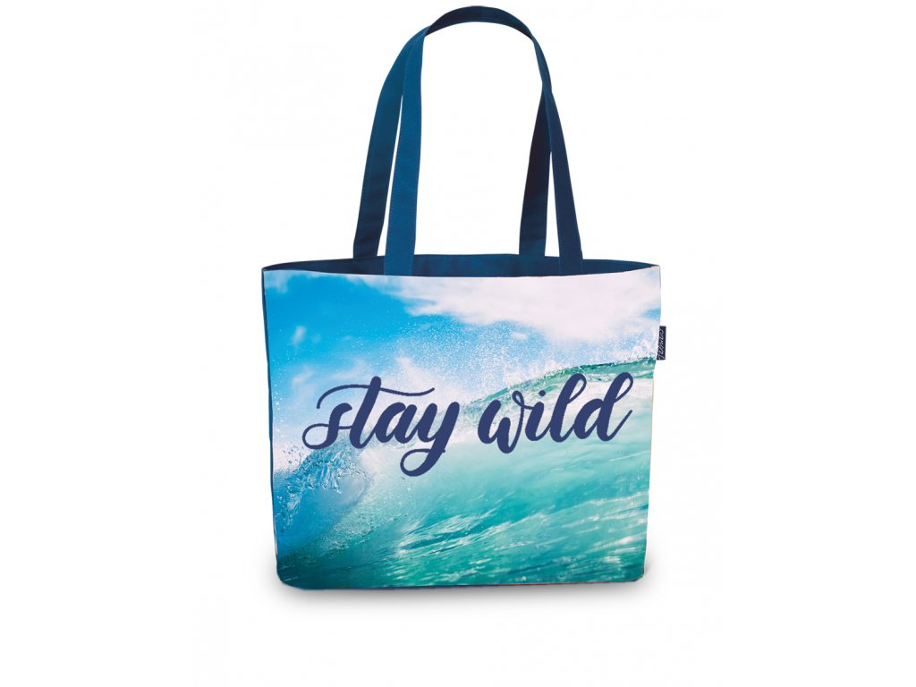 Fabrizio plážová taška modrá 50367-0500