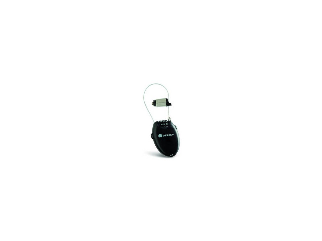 Delsey bezpečnostní kabel 94531000 černý