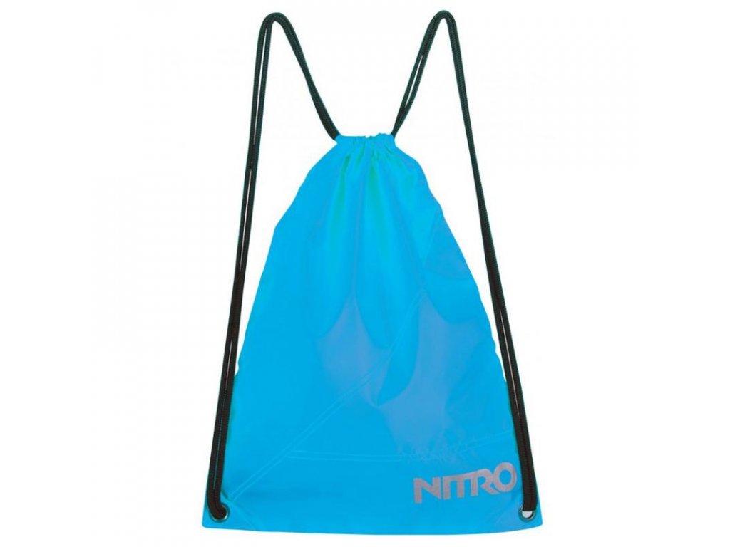 NITRO sports sack acid blue