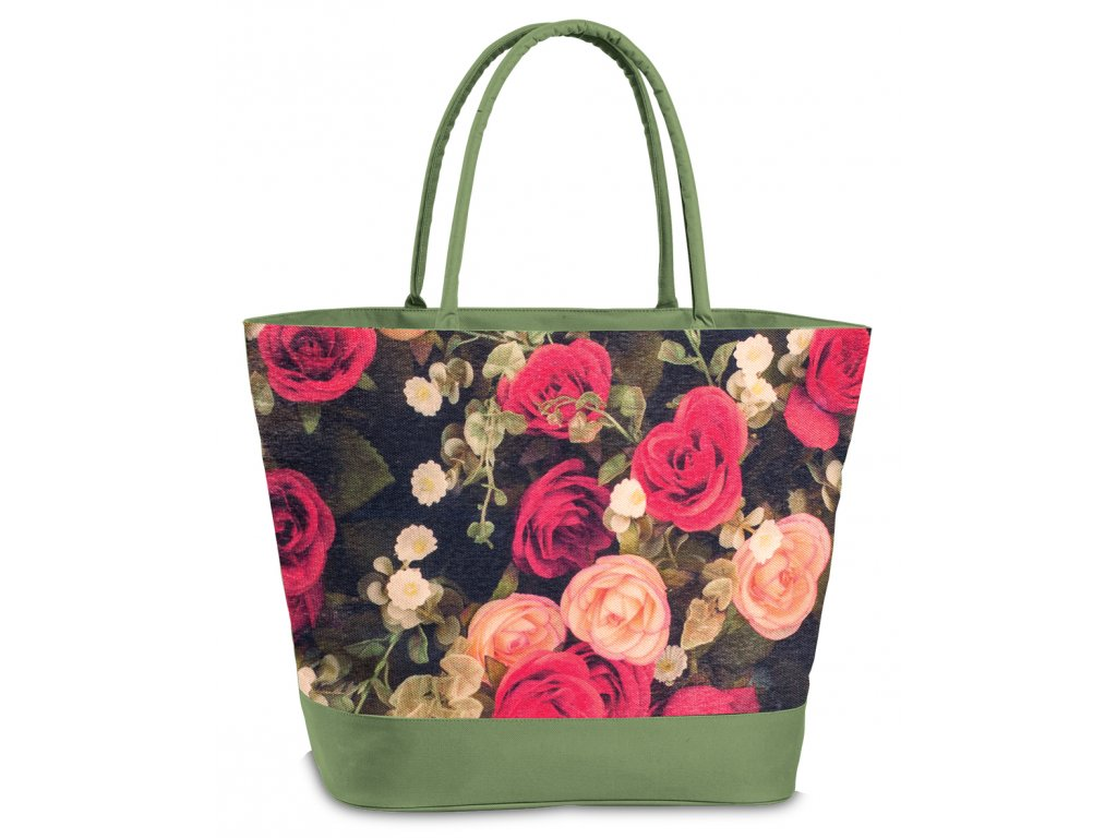 Plážová taška Fabrizio růže - MENDOSÍNA 3aa17c6f73b