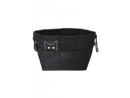 organisateur de sac multifonction chat noir