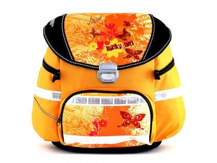 Školní batoh Leasyn 050108 žlutý