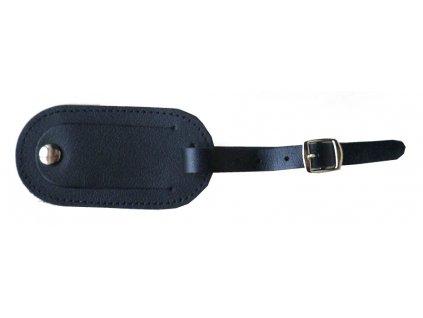 Jmenovka/visačka na kufr černá