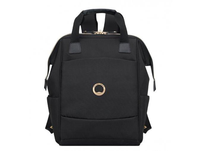 """Delsey Montrouge dámský batoh na PC 13,3"""" dvoukomorový"""