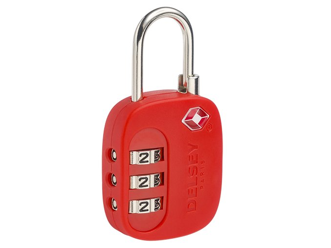 Delsey TSA zámek 394021004 červený