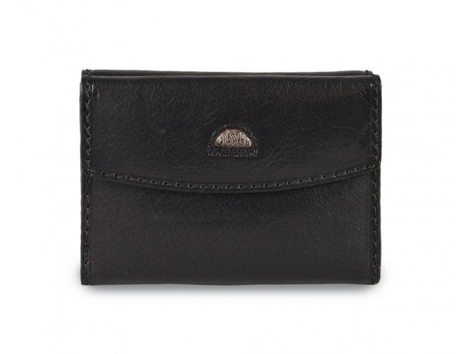 Cosset Classic 4417 dámská černá kožená peněženka