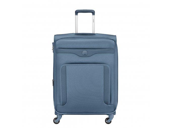 Delsey Baikal kufr trolley 64cm 4w blue