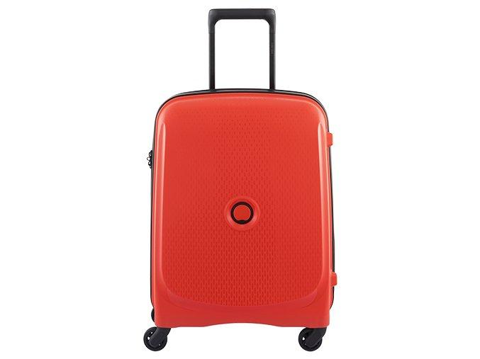 Delsey Belmont SLIM kufr 55 cm 384080304 červený