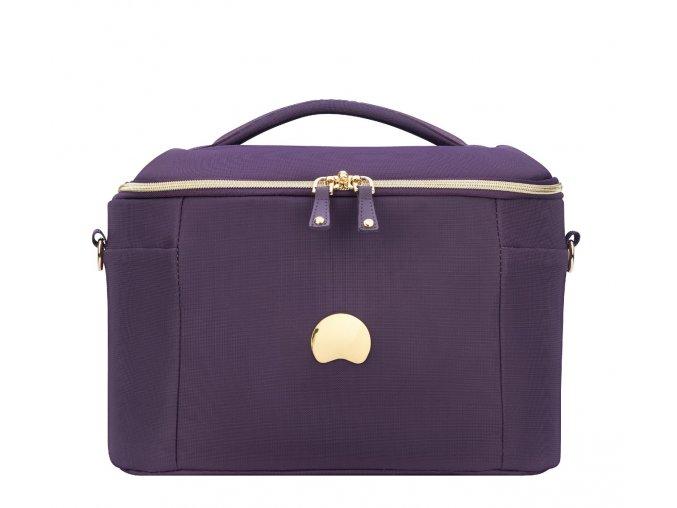 Delsey Montrouge kosmetický kufr fialový 2018310-08