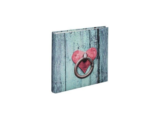 Hama album klasické RUSTICO 30x30 cm, 100 stran, Door Knocker
