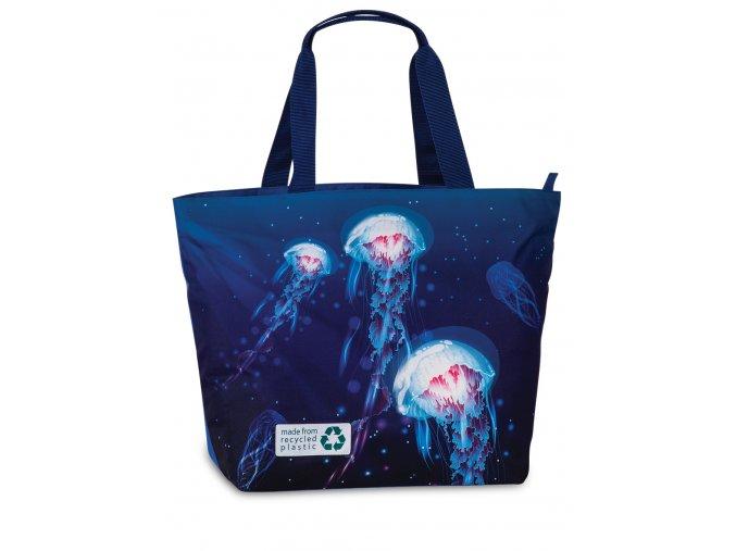 Fabrizio plážová taška Recycled modrá 50362-0600