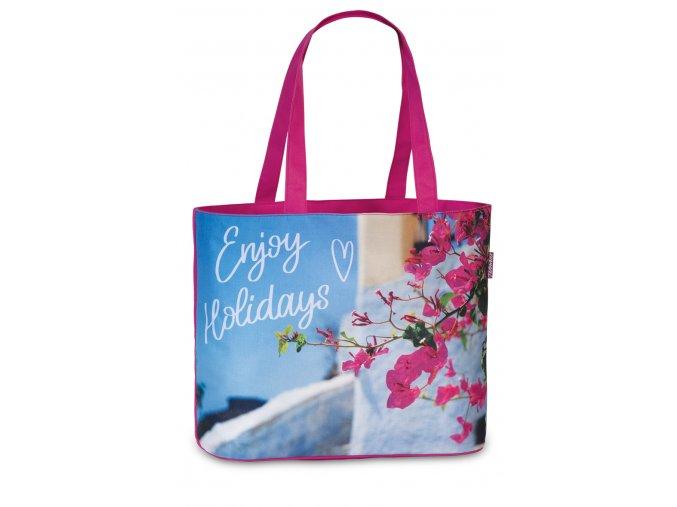 Fabrizio plážová taška růžová 50367-2200