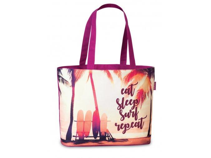 Fabrizio plážová taška fialová 50367-3000