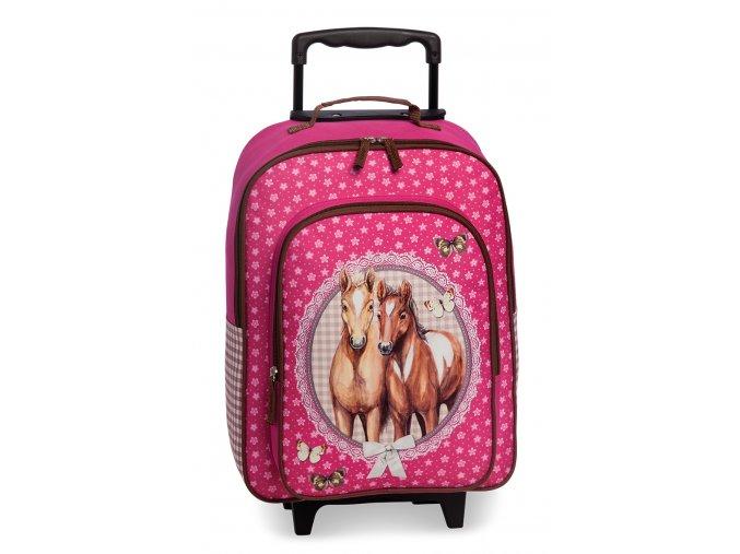 Fabrizio dětský kufr koníci