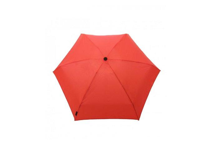 smati mini parapluie solide rouge (1)
