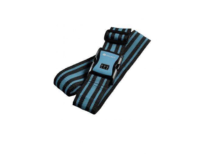 Bezpečnostní popruh na kufr s kódovým zámkem Delsey