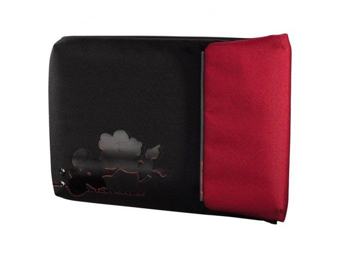 """AHA URBAN notebook obal 15.6"""" černá/červená"""