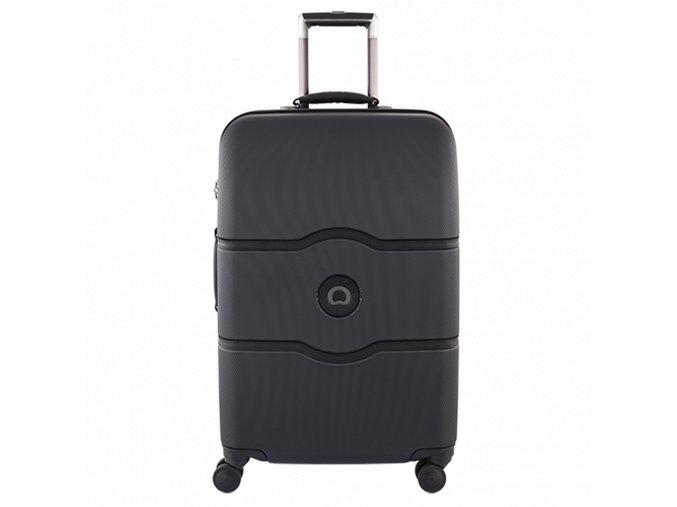 Cestovní kufr 67 cm 4 dvojitá kol. troll. Delsey Chatelet Hard+