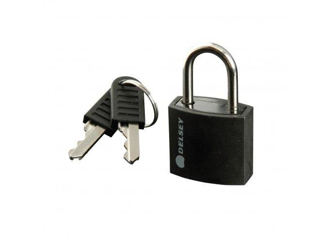 Delsey zámek na kufr 94306000 černý