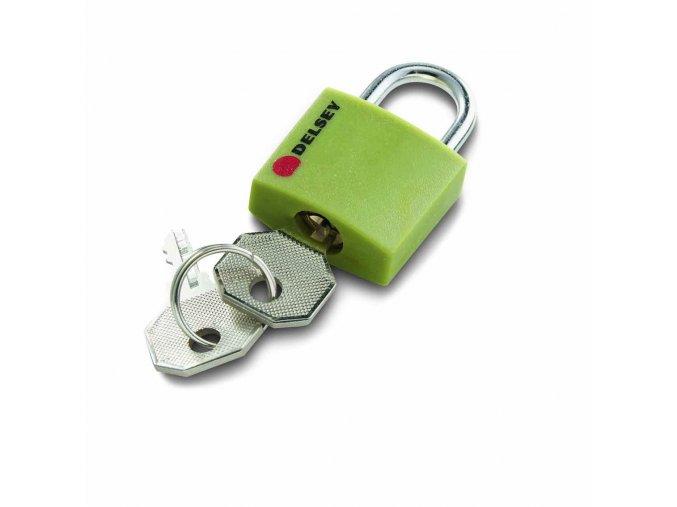 Delsey zámek na kufr 94306013 zelený