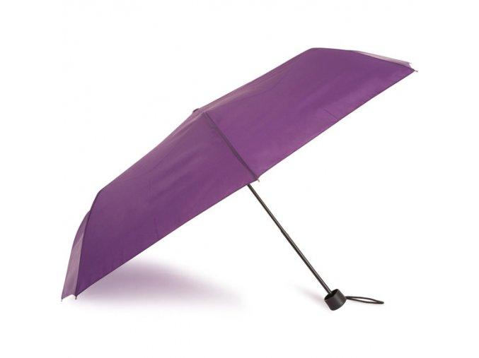 Deštník manuální fialový