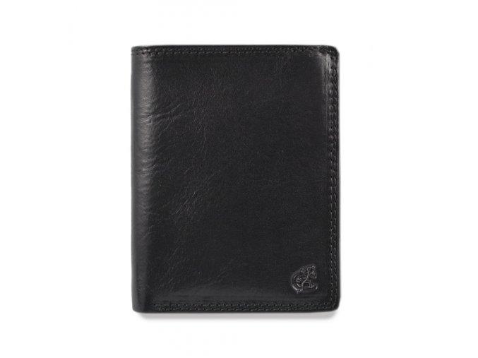 """Pánská kožená peněženka """"na výšku"""" Cosset Komodo"""
