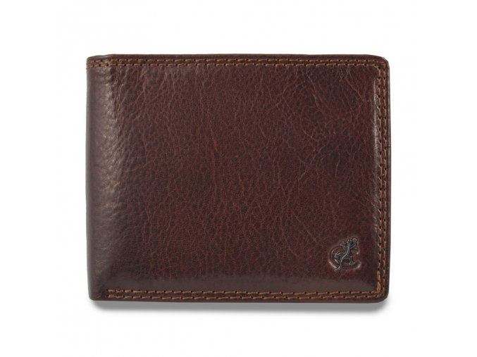 """Pánská kožená peněženka """"na šířku"""" Cosset Komodo"""