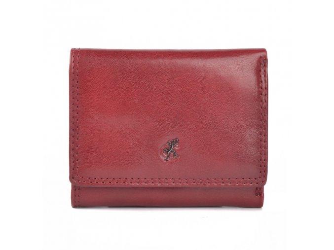 Dámská bordó kožená peněženka Cosset Komodo