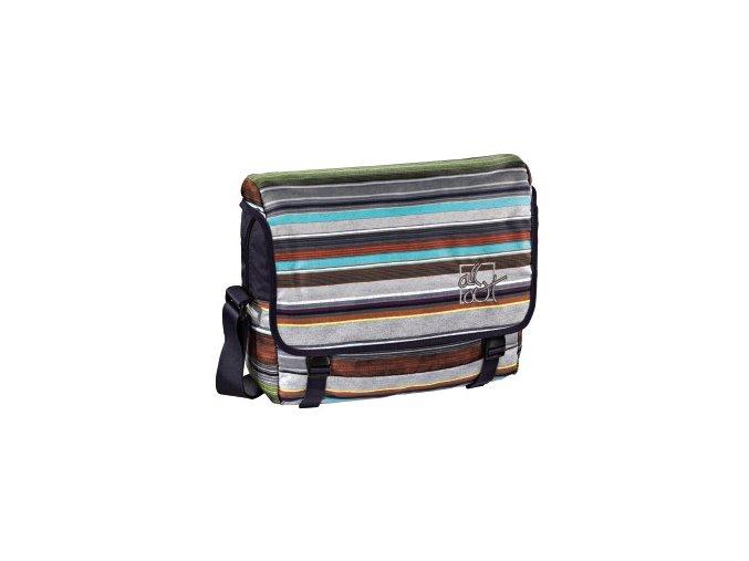 Taška přes rameno All Out, Waterfall Stripes