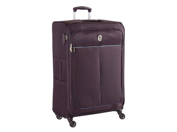 Delsey Caleo kufr troll. 78cm 4kol tm. fialový