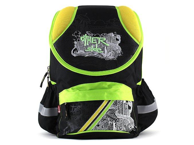 Target batoh žluto zeleno černý