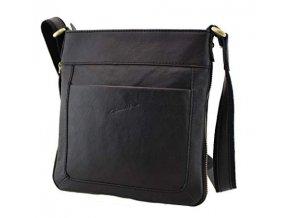 Crossbody taška kůže černá Gerard Henon 5205