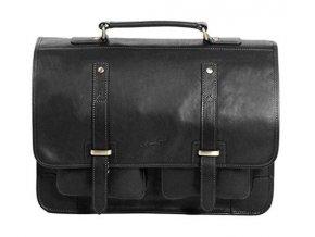 Gerard Henon kožená taška 5326 černá