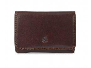 Cosset Komodo dámská hnědá kožená peněženka