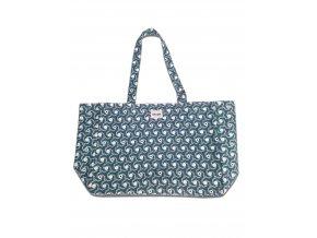 blue taška