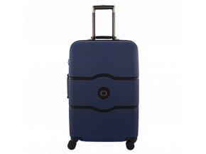 Delsey Chatelet Hard+ kufr 67 cm modrý