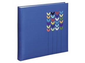 Hama album klasické BLOSSOM 30x30 cm, 80 stran, modrá