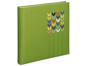 Hama album klasické BLOSSOM 30x30 cm, 80 stran, zelená