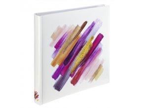 Hama album klasické BRUSHSTROKE 30x30 cm, 80 stran, červená