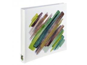 Hama album klasické BRUSHSTROKE 30x30 cm, 80 stran, zelená