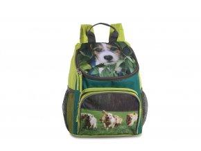 Dětský batůžek na výlety limetka