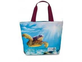 Fabrizio plážová taška Recycled vínová 50362-2500