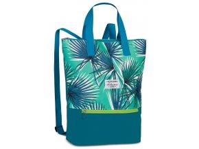 Fabrizio plážový batoh zelený