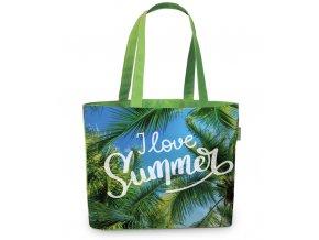 Fabrizio plážová taška zelená 50367-3300
