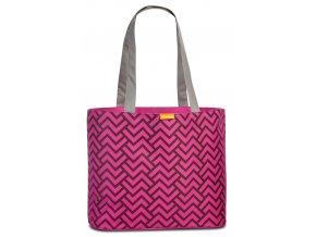 Fabrizio plážová taška fialová 50368-3100