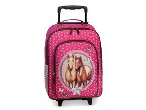 Dětský kufr koníci